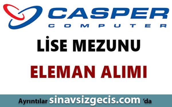Casper Bilgisayar Eleman Alımı