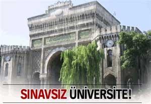 istanbul üniversitesi sınavsız ikinci üniversite
